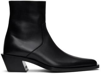 Balenciaga Black Tiaga Zip-Up Boots