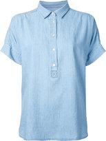 Closed plain polo shirt - women - Cotton/Linen/Flax/Lyocell - XS