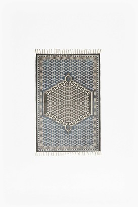 French Connection Small Blue Poppy Rug