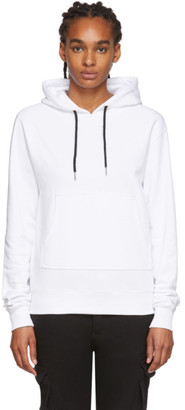 Youths in Balaclava White Y Hoodie