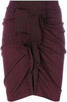Etoile Isabel Marant Noora Scottish Something Pinstripe skirt - women - Cotton/Spandex/Elastane - 36