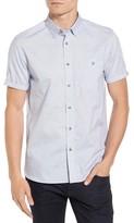 Ted Baker Men's Beya Slim Fit Nepped Woven Shirt