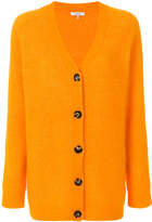 Ganni buttoned V-neck cardigan