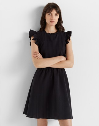 Club Monaco Ruffle Sleeve Dress