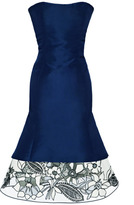 Carolina Herrera Preorder Silk Faille Dress