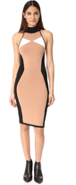 KENDALL + KYLIE Illusion Halter Dress