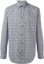 Maison Margiela print long-sleeve shirt - men - Cotton - 40