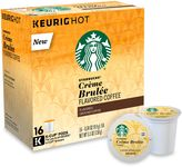 Starbucks for Keurig 16-Count Crème Brulee Coffee for Single Cup Coffee Makers
