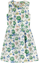 Cath Kidston Regent's Rose Embellished Neckline Dress