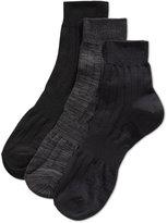 Perry Ellis Men's Mid-Crew Socks, 3 Pack