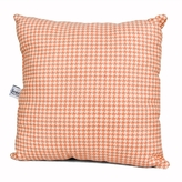 Just Buggy Pillow - Pink Houndstooth Check