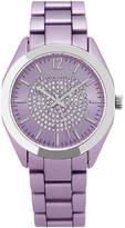 SO & CO So & Co Womens Purple Bracelet Watch-Jp15891
