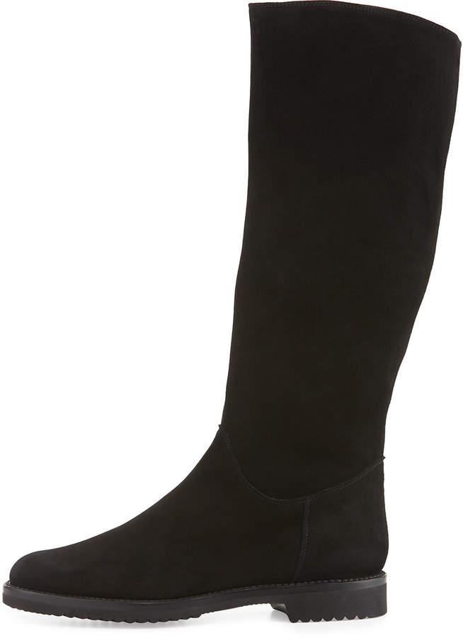 Gravati Tall Suede Boot, Black