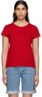 Rag & Bone Red The Slub T-Shirt