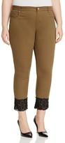 Marina Rinaldi Raccanto Crop Cuff Slim Jeans