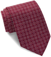 Tailorbyrd Horseshoe Silk Tie