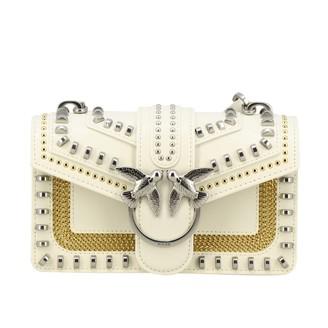 Pinko Love Mini Leather Bag With Studs
