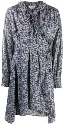 Etoile Isabel Marant Floral Print Wrap Dress