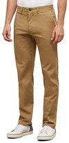Kenneth Cole Reaction Men's Chino Flat-Front Slim-Fit Casual Pant
