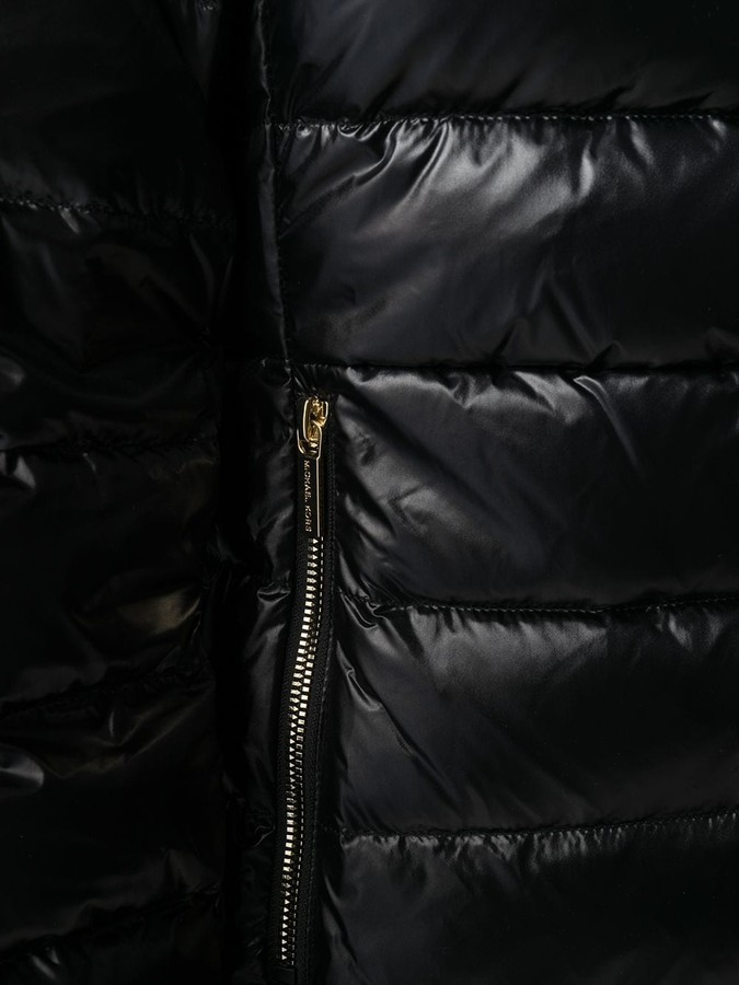 Thumbnail for your product : MICHAEL Michael Kors Belted Padded Coat