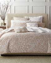 Charter Club Damask Designs Paisley Taupe Twin Comforter Set