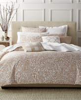 Charter Club Damask Designs Paisley Taupe Twin Duvet Set