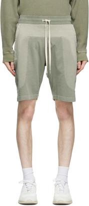 John Elliott Green Seneca Shorts