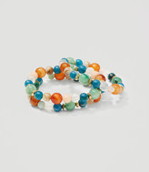 LOFT Beaded Stretch Bracelet Set