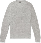 J.Crew Marled Cotton Sweater - Gray