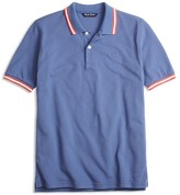 Brooks Brothers Boys' Color Tipped Piqué Polo Shirt - Sizes XS-XL
