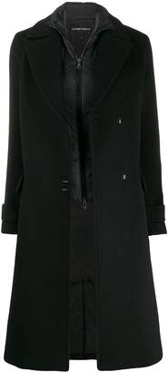 Emporio Armani oversized wool coat