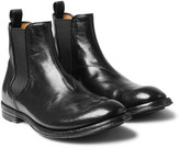 Officine Creative - Anatomia Polished-leather Chelsea Boots