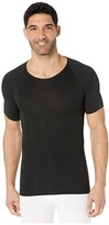 Spanx For Men for Men Zoned Performance Crew Neck (Black) Men's Underwear