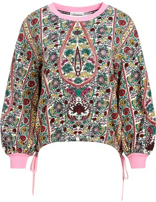 Alice + Olivia Amirah embroidered jumper