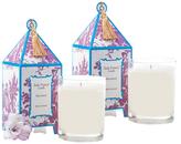 Seda France Provence Pagoda Candles (10 OZ) (Set of 2)