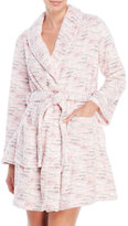 Jessica Simpson Plush Textured Short Robe