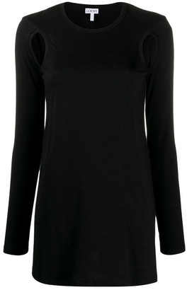 Loewe Cou Out Long Sleeves T-shirt