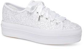 Keds Women's Triple Up Glitter Sneakers