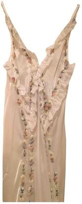 ATTICO White Silk Dresses