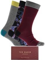 Ted Baker Chesham 3 Pack Socks