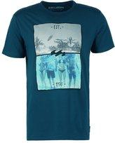 Billabong Chill Tailored Fit Print Tshirt Deep Sea