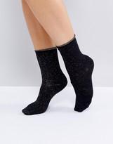 Selected Glitter Sock