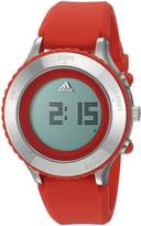 adidas Women's ADP3194 Urban Runner Digital Display Analog Quartz Red Watch