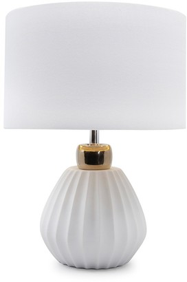 Salt & Pepper Mood Lilou Table Lamp 41cm White