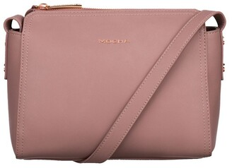 Mocha Samantha Crossbody Bag - Mauve