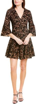 Michael Kors Silk-Lined A-Line Dress