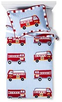 Nobrand No Brand My World Cotton Fire Truck Quilt Set