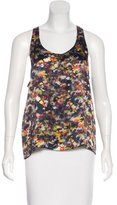 Erdem Silk Sleeveless Top