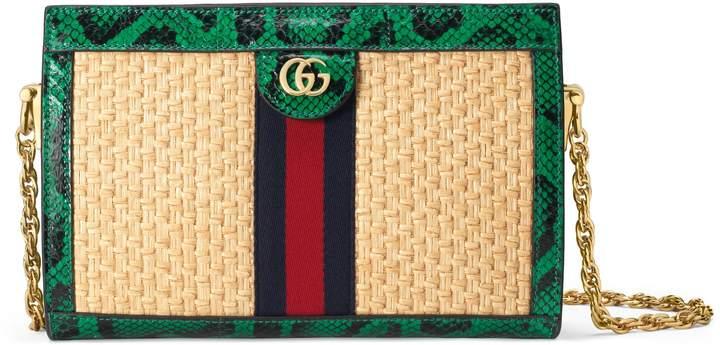 574dcf52e21a Gucci Fabric D Gold Bag - ShopStyle