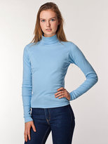 Baby Rib Long Sleeve Turtleneck